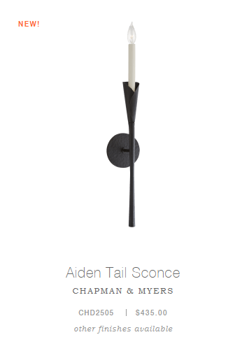 Aiden Tail Sconce