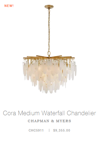 Cora Medium Waterfall Chandelier