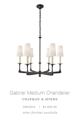 Gabriel Medium Chandelier