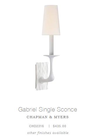 Gabriel Single Sconce